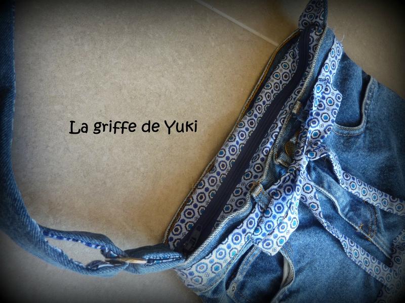 284 - Sac en jean et tissu bleu (5)
