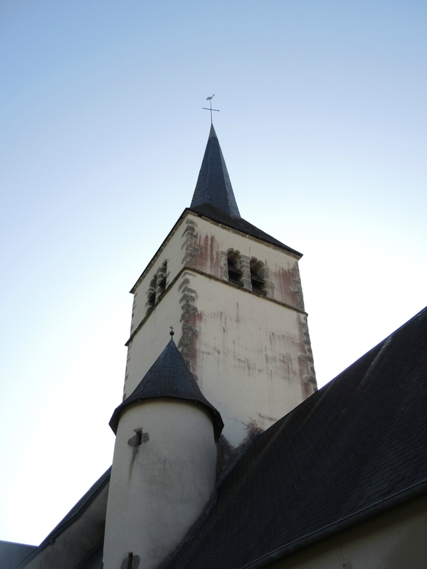 Corancy, église Saint Euphrone, clocher (58)