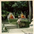 KATMANDHU 1970 Temple des Singes