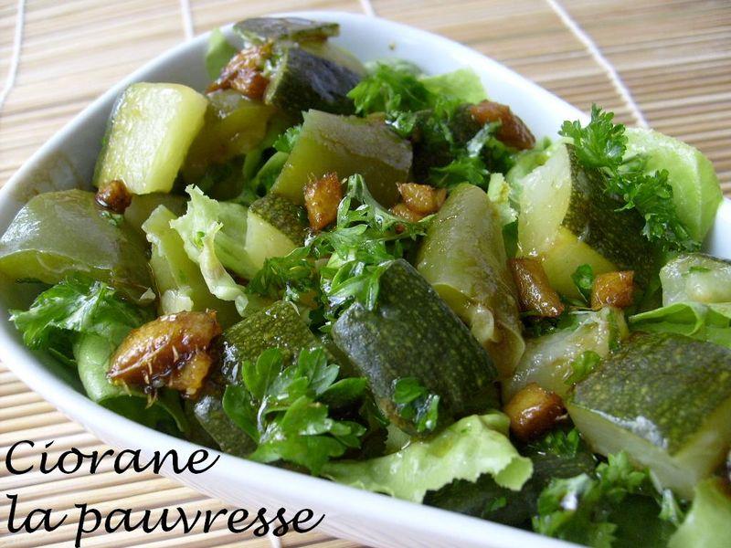Wonderful Salade De Courgettes Cuites #10: Courgettes En Sauce Aigre-douce
