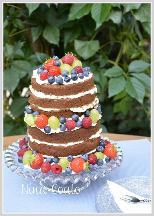 wedding cake fruits frais nina couto 1