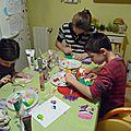 Nouvel atelier peinture et paillettes...