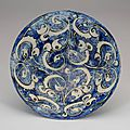 Fritware bowl, iran (kashan), early 13th century