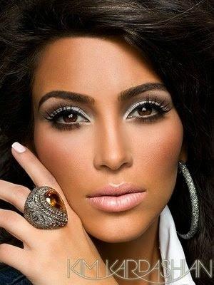 kim kardashian makeup vegas magazine