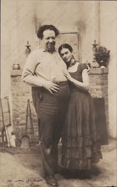 Frida Khalo et Diego Riveira 1931