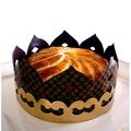 Bavarois des rois (chocolat poire amandes)