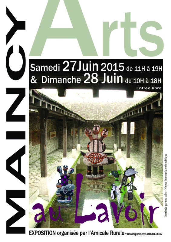 Arts au Lavoir - Maincy - 2015 - M Caut