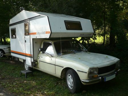 peugeot 504 camping car cellule bimobil vroom vroom. Black Bedroom Furniture Sets. Home Design Ideas