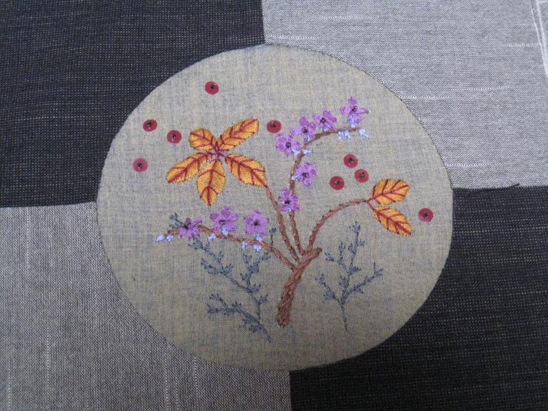 Fée Pirouette - L'herbier - Août violette - BOM 2010