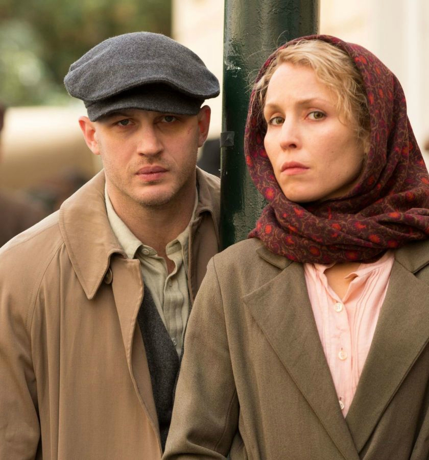 Tom Hardy et Noomi Rapace