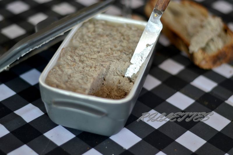 how to make rillettes de porc