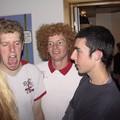 Rob à gauche et John à droite (UK) au centre un norvégien