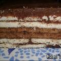 Gâteau aux thé brun