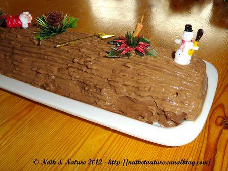 Bûche Chocolat - Orange - 4