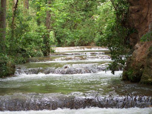 Monastère de Piedra-marches d'eau