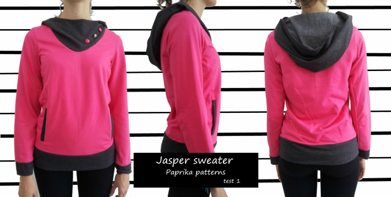 Jasper sweater - version test 1