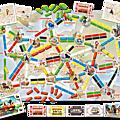 Boutique jeux de société - Pontivy - morbihan - ludis factory - Aventuriers du rail mon premier voyage visuel