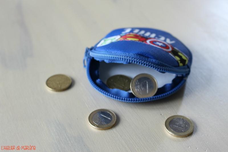 porte monnaie enfant super héros 2