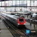 Voiture Pilote B5-uxh arrivant à Paris Gare de Lyon