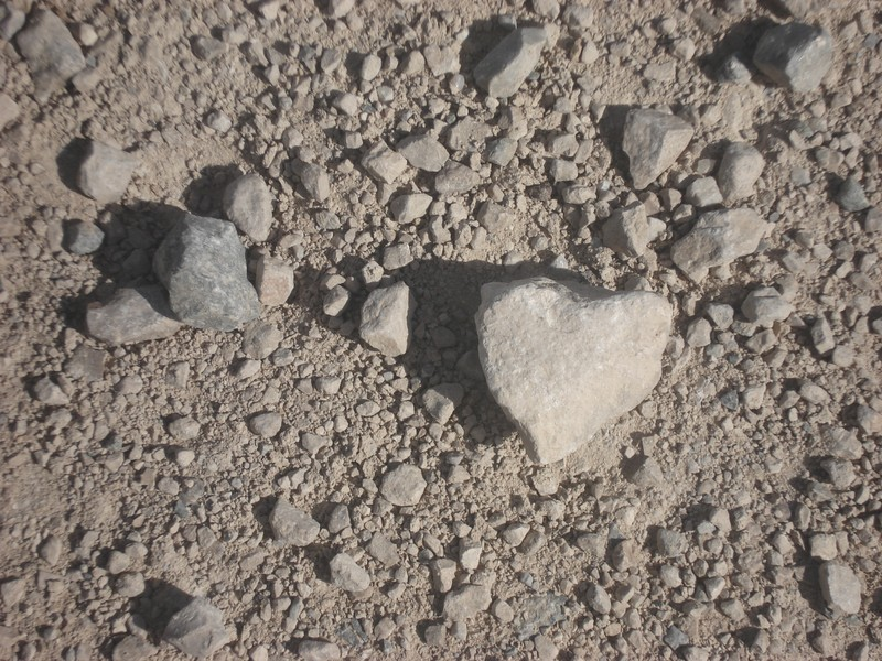 coeur à terre