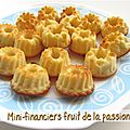 Mini-financiers aux fruits de la passion