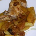 Tajine de lapin aux fruits secs