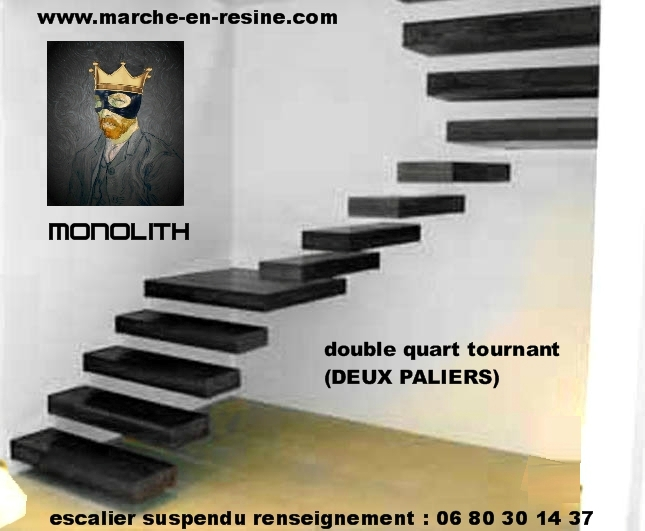 escalier suspendu tarif de marches d escalier sur mesure. Black Bedroom Furniture Sets. Home Design Ideas