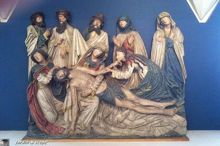 Unterlinden - Rhin suprieur - Colmar - Dploration du Christ - 1510-1520
