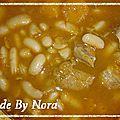 Loubia soupe de haricots blanc