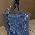 [couture - défi recyclage #6] un sac repas