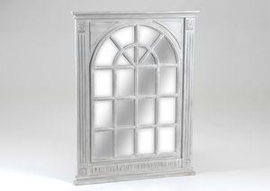 Miroir quadrill en m tal ou en bois boutique amadeus for Miroir quadrille kine