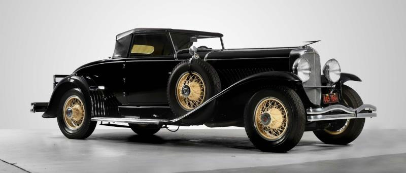 Magnificent all-original 1929 Duesenberg J convertible could top $2 million at Morphy's