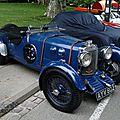 Aston martin 1 1/2 litre short chassis le mans-1933