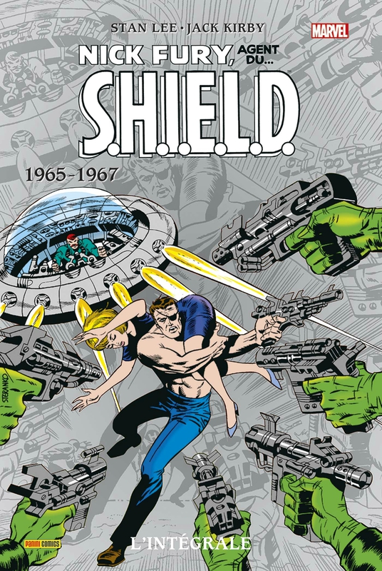 intégrale nick fury agent du shield 1965-67