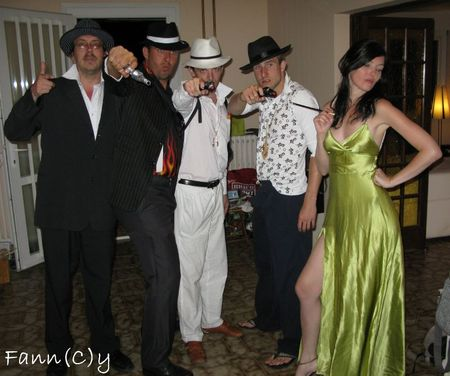 Scarface Party Ma robe Elvira par Fann(C)y