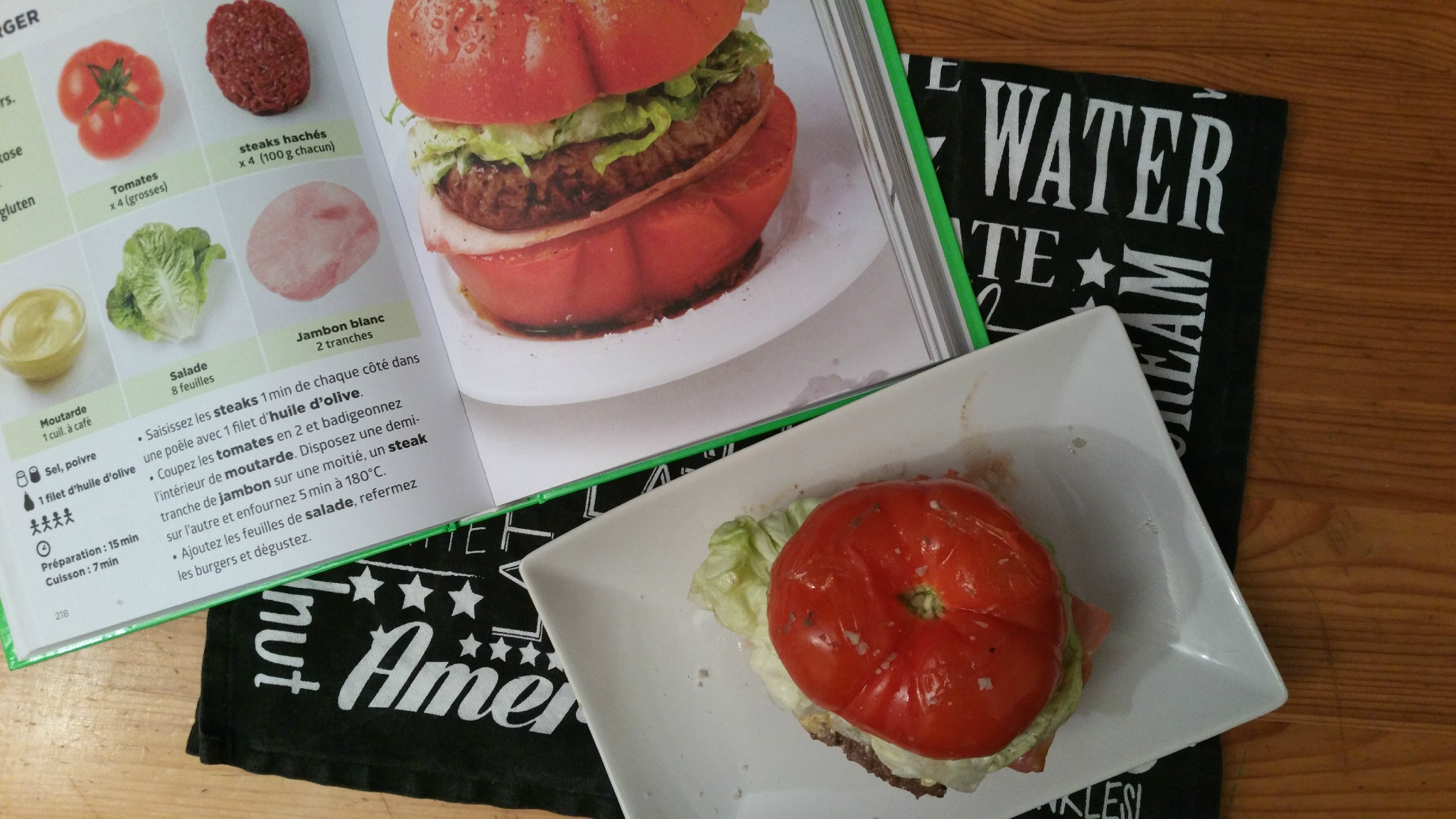 Tomate burger blogs de cuisine for La cuisine simplissime light