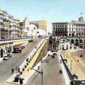 Alger(vers le port-1950)