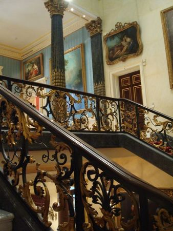 Wallace Collection Hertford House stairs