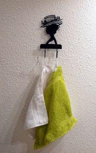Porte serviettes invités