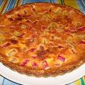 pita od rabarbare (tarte à la rhubarbe)