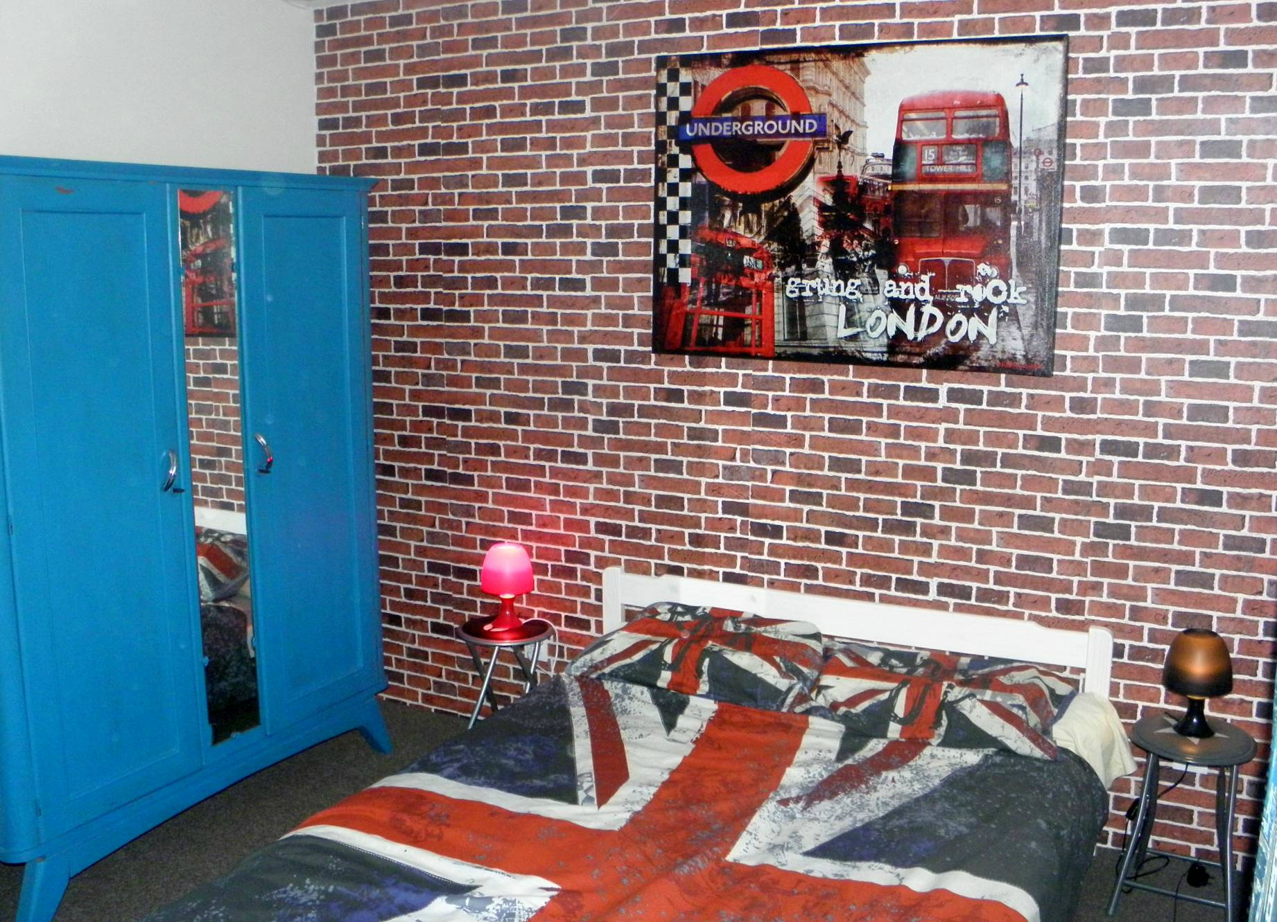 D co chambre new york et london - Decoration chambre london ...
