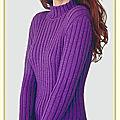 Tuto pour tricoter un modèle dans une taille différente, par l'exemple.