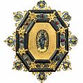 Cadre octogonal, italie, xviiième siècle