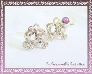 Boucles d'oreilles carosses (3)