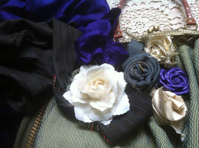 sac boule fleur 002