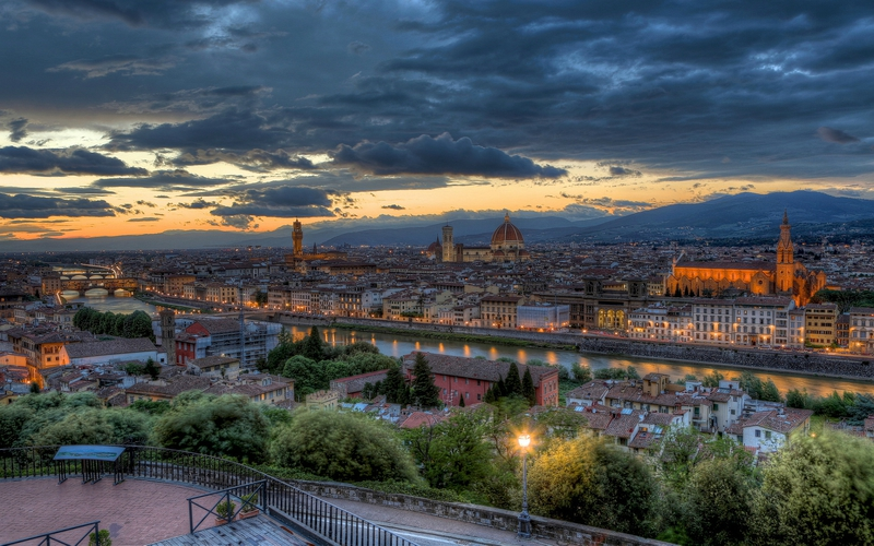florence-evening