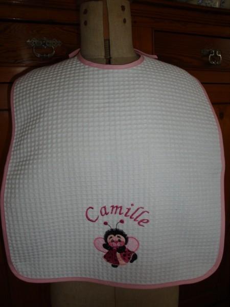 Bavoir Camille