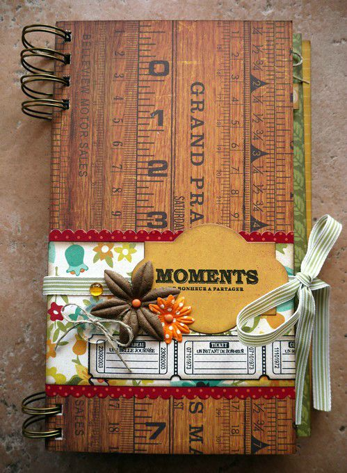 mini album moments de bonheur à partager couv