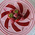 Plaisir aux fruits rouges