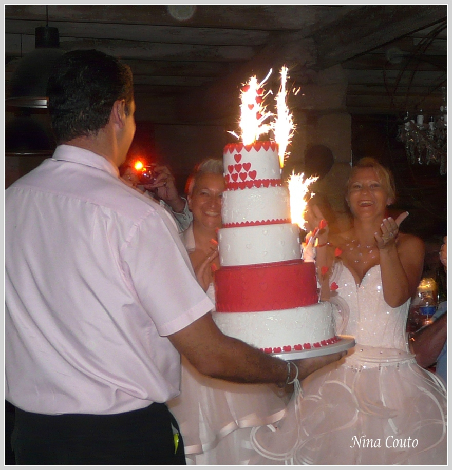 wedding cake arrivée1